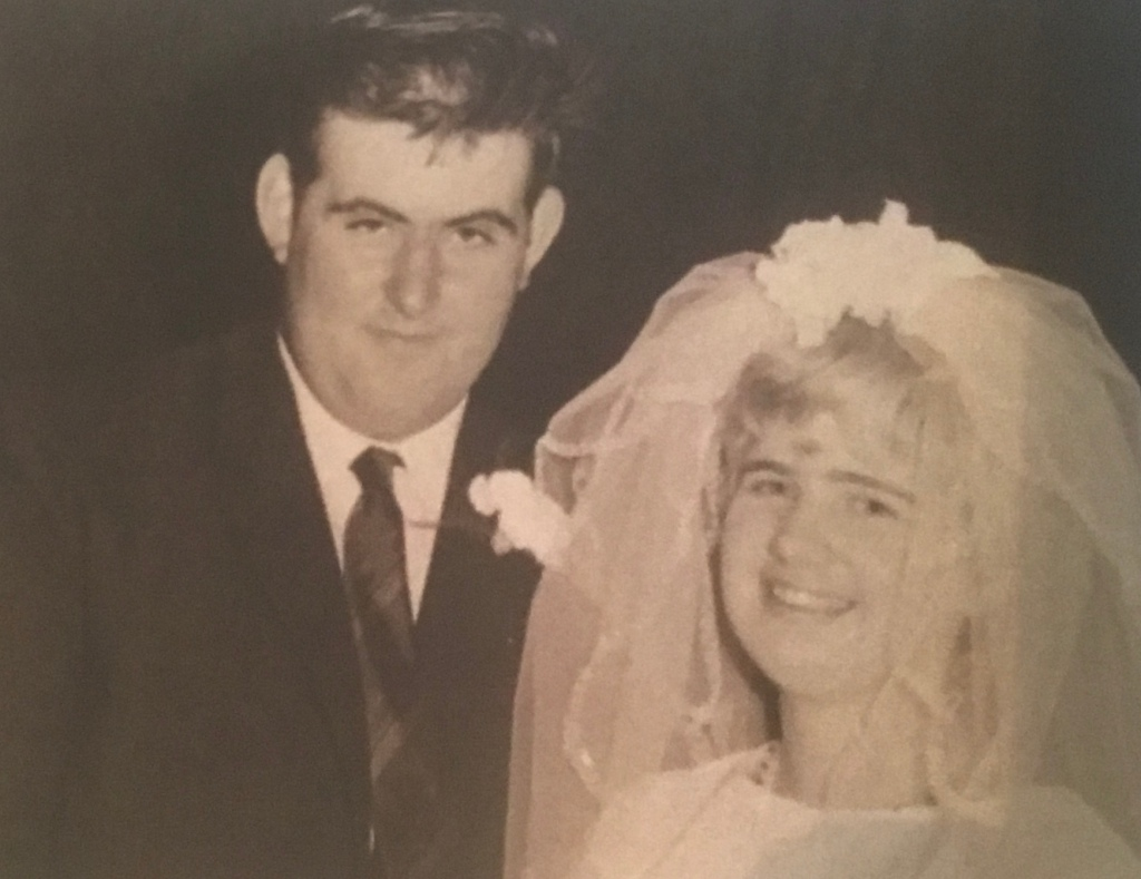 Mum & Dad on their Wedding Day